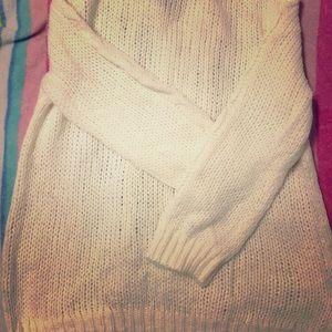 Cream/ off White Old Navy sweater sz L